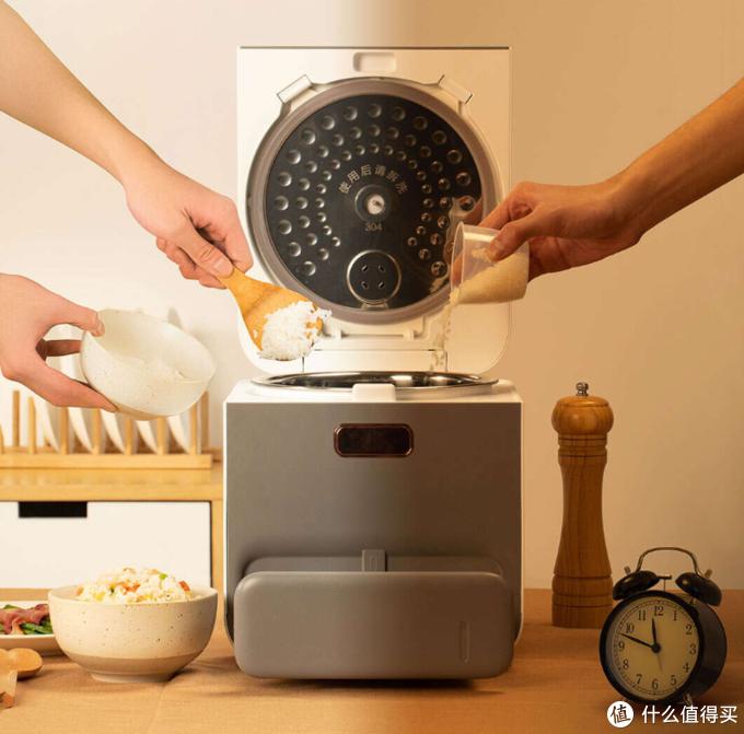 告别高糖高淀粉困扰!小米有品众筹上架臻米脱糖蒸汽养生饭煲