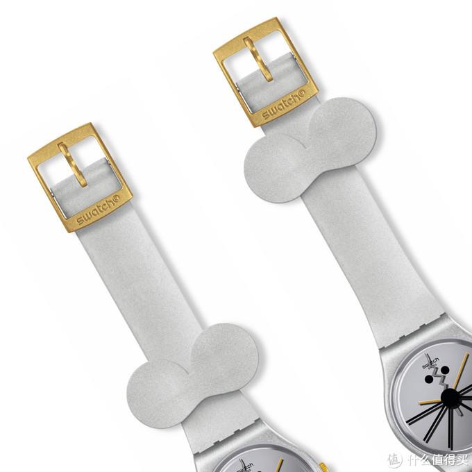 """""""鼠""""你可爱:Swatch推出鼠年限量腕表,大耳朵表扣萌动机敏~"""
