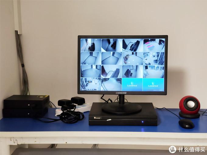 给DVR硬盘录像机直接上4TB×2监控级硬盘来给监控摄像头保驾护航,保障一个月实时监控数据