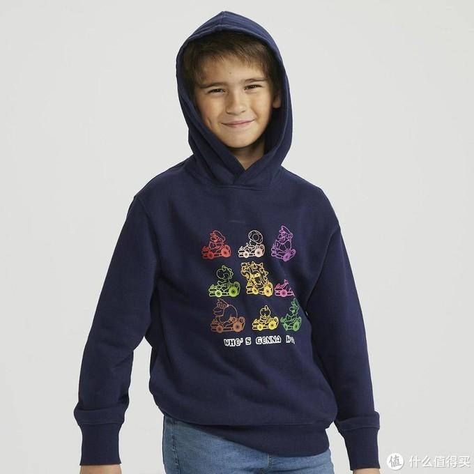 重返游戏:优衣库推出《马力欧赛车》联动款连帽衫&T恤童装