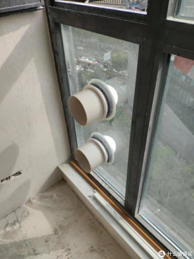 贴窗安装效果图