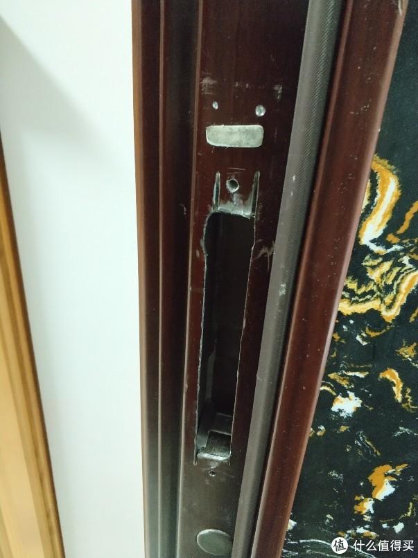 不装个指纹锁你都不知道王力门有多耐搞-王力门装绿米N100流水