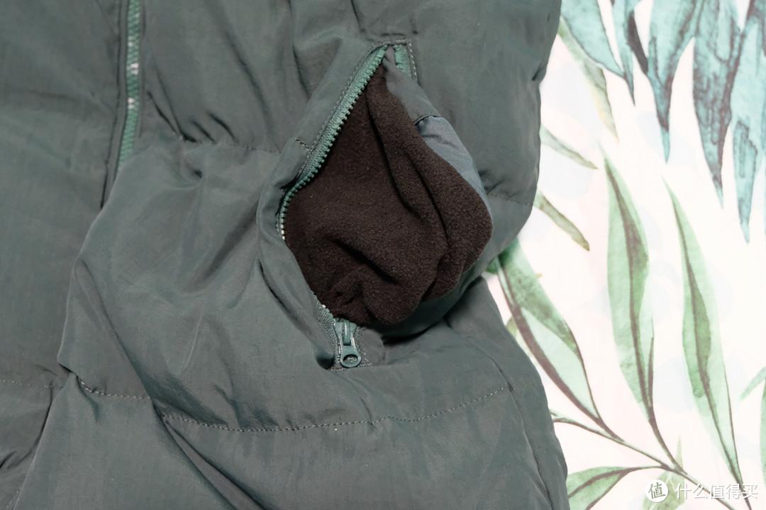 跟着大妈买,INMAN茵曼 贴布绣文艺中长款羽绒服 晒单