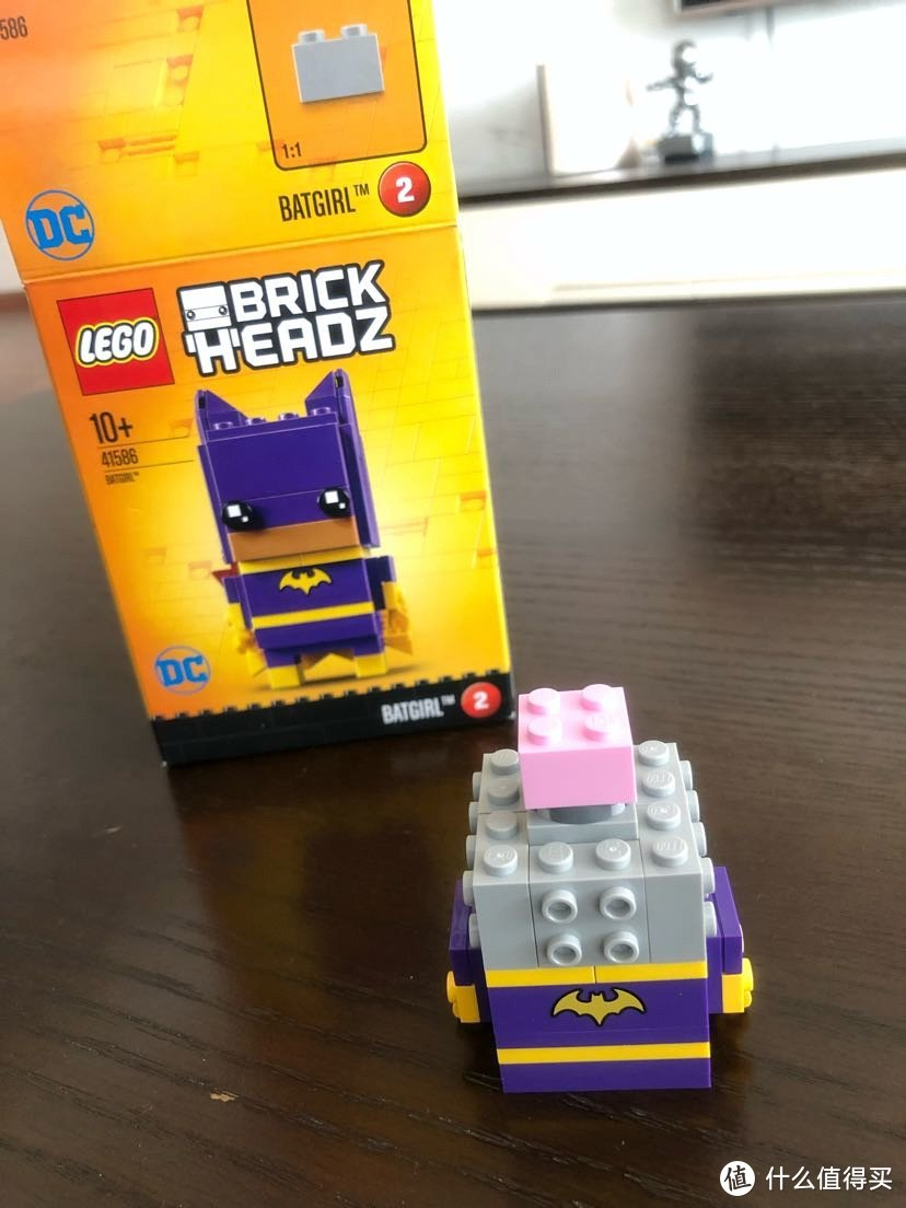 LEGO乐高 BrickHeadz方头仔 41586蝙蝠女