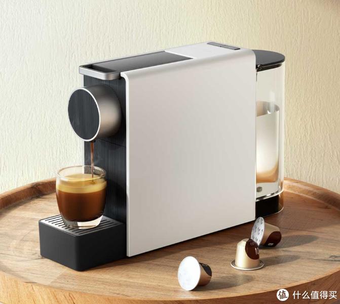 好喝的咖啡自己做:小米有品上新一款胶囊咖啡机,可杯量个性化定制