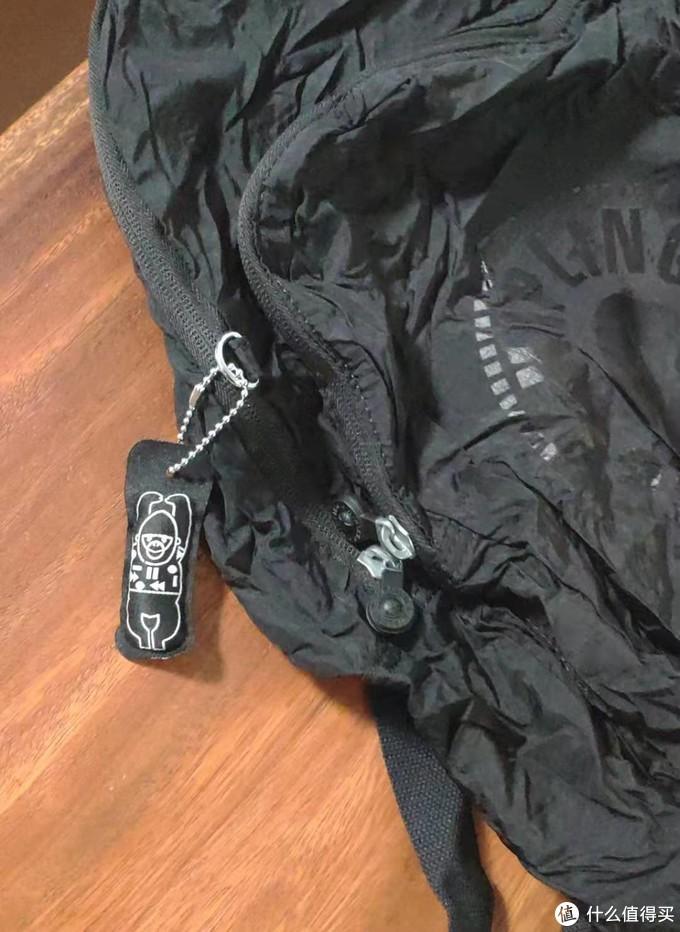 小体积大容量——kipling seoul可收纳背包开袋