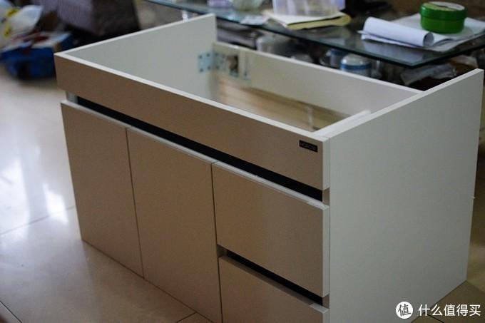好柜镜决定 希箭实木浴室柜套装