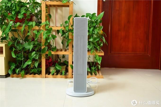 超大广角送风,支持小爱同学语音控制:智米智能暖风机体验!