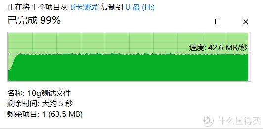 (朗科)10g文件拷入 完成度99%