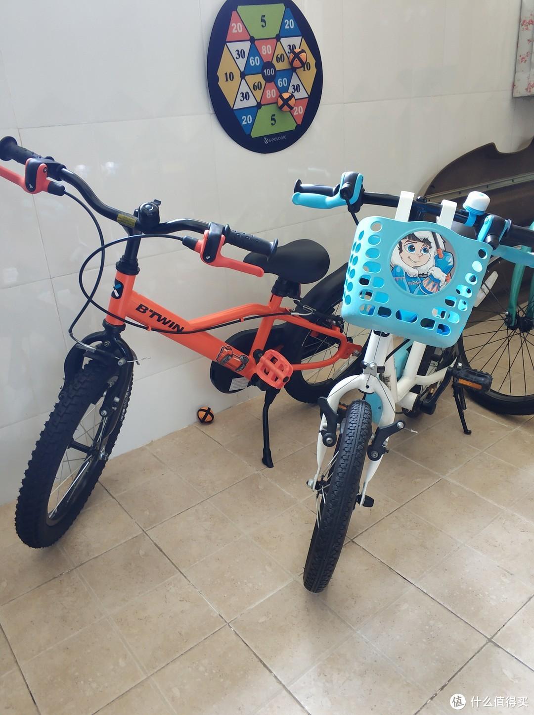 迪卡侬16寸儿童自行车-进阶款