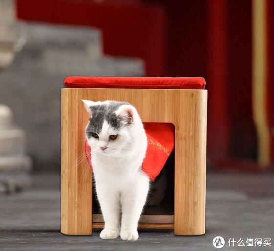 铲屎官注意!小米有品推出御猫说多功能宠物窝,既是小家具又是猫窝