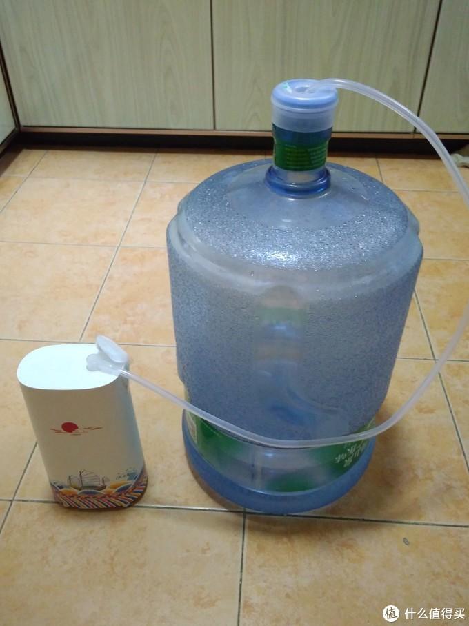 水机使用桶装水时候的状态