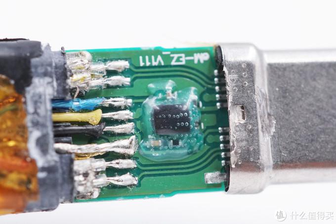 拆解报告:70cm Thunderbolt 3 (雷电 3)同轴线