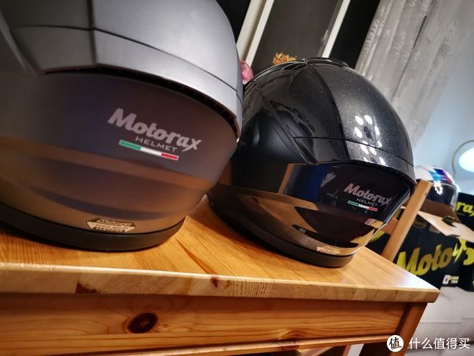 MOTORAX 摩雷士 揭面头盔 +PINLOCK防雾贴片