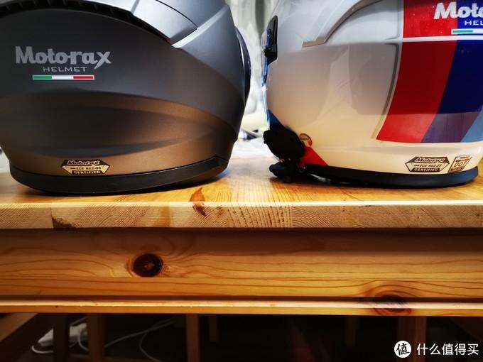 R35揭面盔和S30 3/4盔
