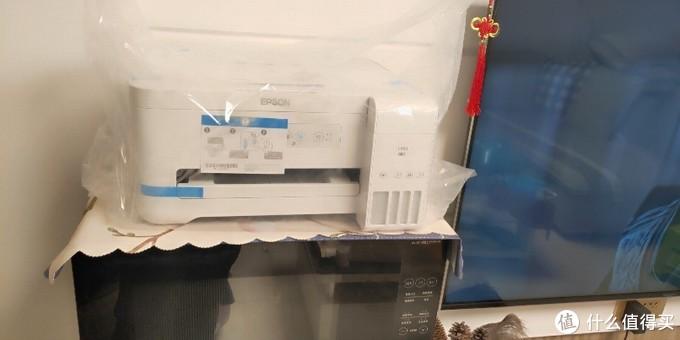 爱普生L4151墨仓式喷墨打印机简单开箱和初体验