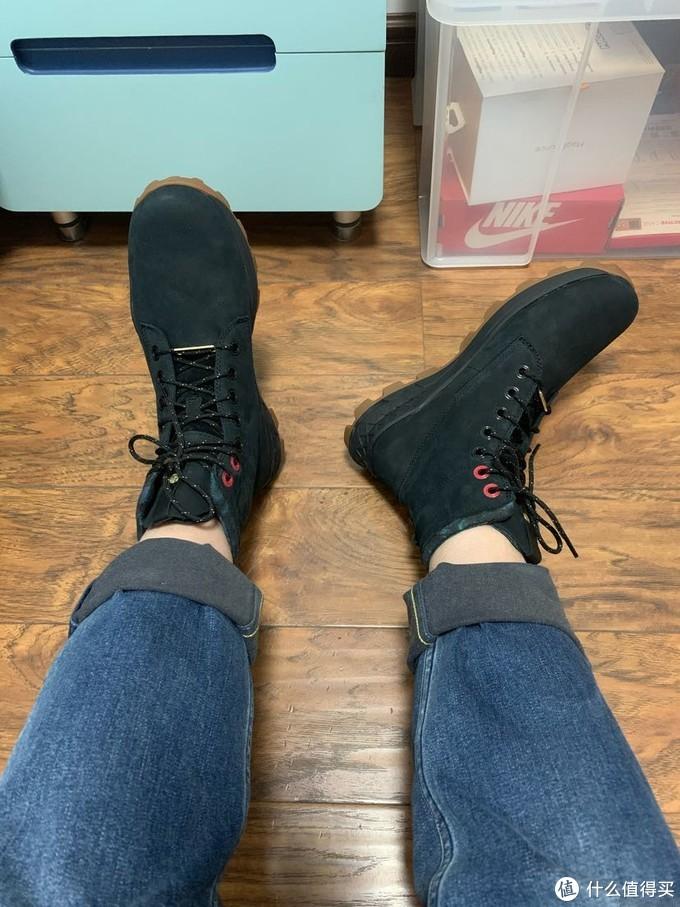 添柏岚20款布鲁克林特别版休闲男靴