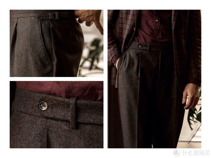 抗皱、保暖的法兰绒西裤是冬天通勤族的必备