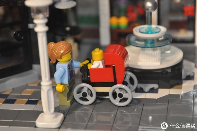 LEGO 乐高 街景 10255 10周年集会广场