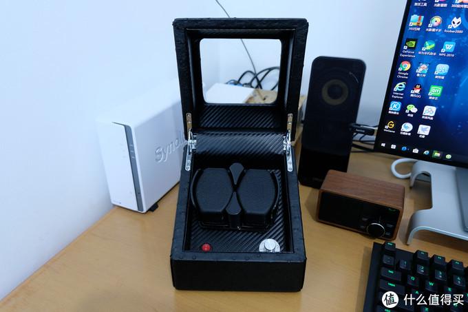 百元摇表器好用吗?静风尚 自动机械表摇表器 开箱体验