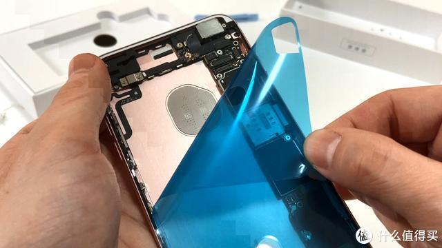 闲来无事,给我的备机6sp换块新电池(技术贴,教学贴欢迎围观)