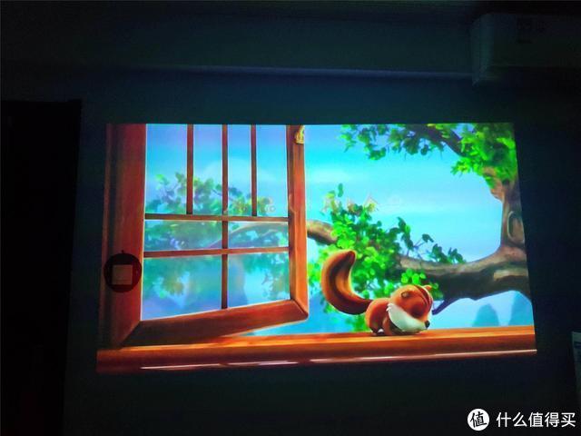 白墙秒变大屏,娱乐办公两不误,智能投影微果H6体验
