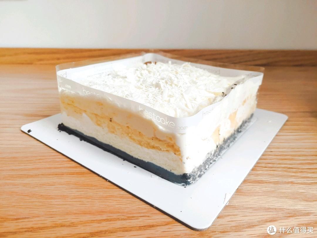58块钱有没有吃亏上当?来看看这款贝思客雪域牛乳芝士蛋糕到底怎么样