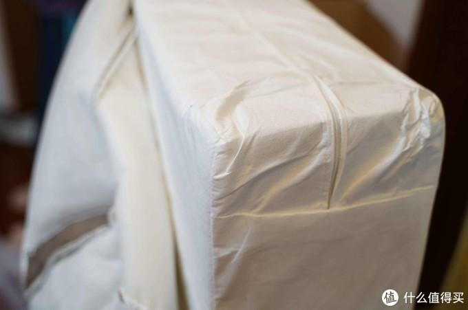 给孩子一个舒适的床垫,8H 黄麻透气护脊床垫体验