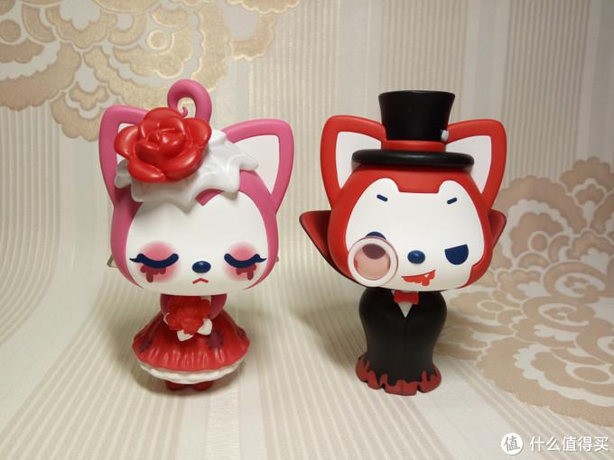 欢迎来参加阿狸和桃子的婚礼,黑暗古堡系列盲盒体验