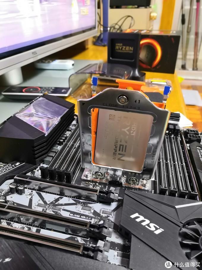 然后安装CPU