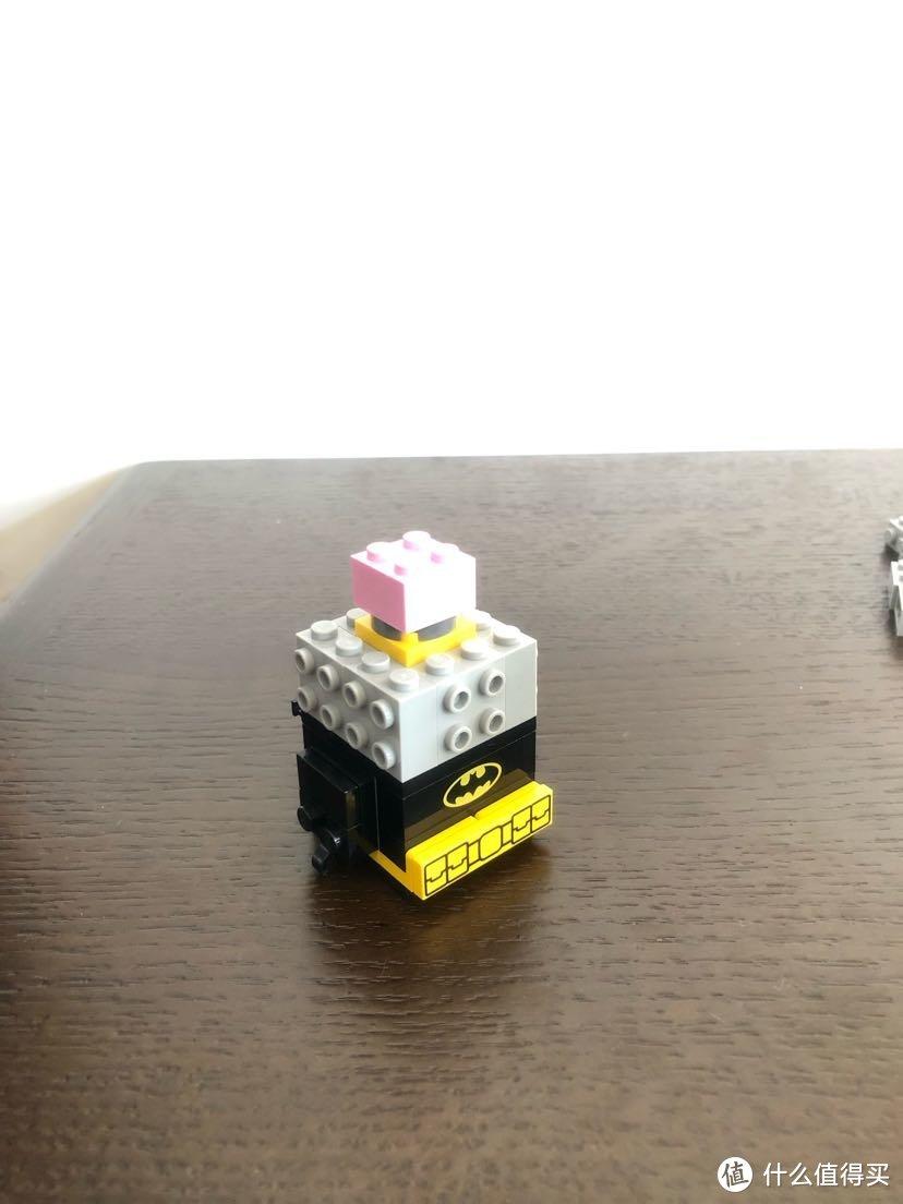 LEGO BRICKHEADZ 乐高方头仔 41585 蝙蝠侠