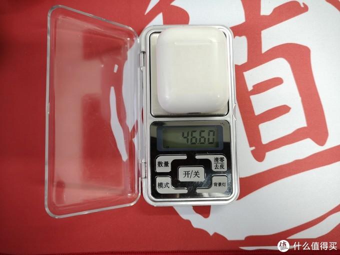 AirPods含耳机重量
