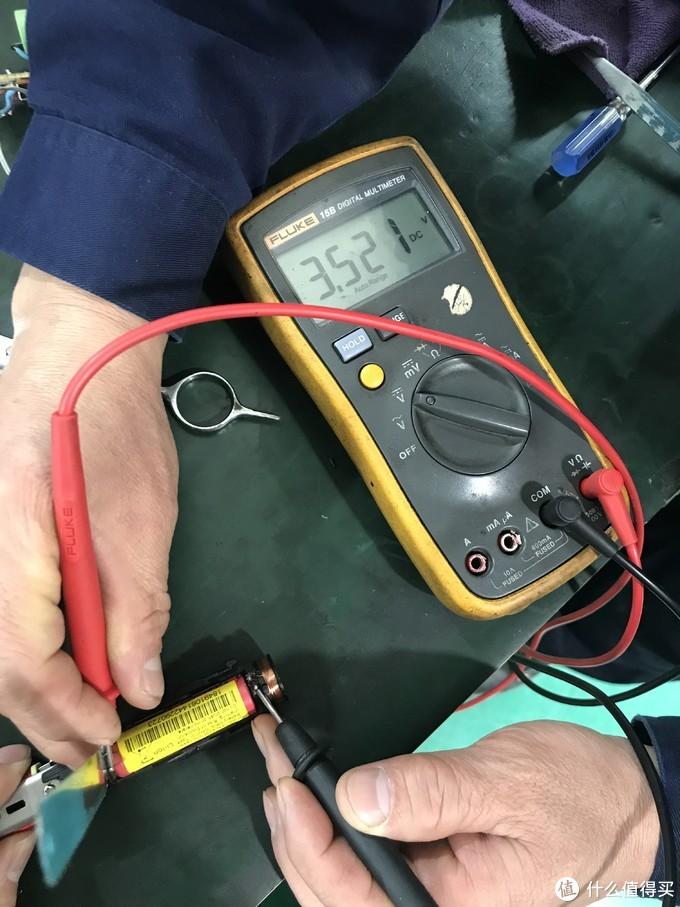 三洋出品锂离子电池,3.5V状态依旧良好