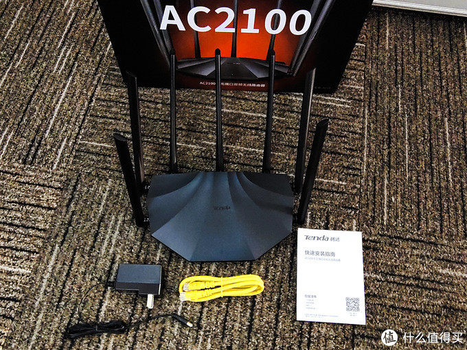 百元级超值路由 腾达AC2100拆解测试