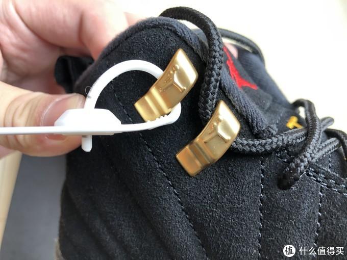 金色鞋带扣