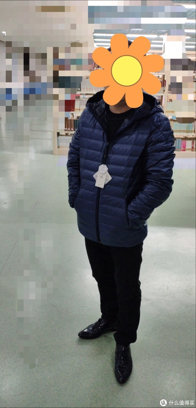图书馆猿の小米(MI) 90分 轻薄无缝一体织 男士鹅绒羽绒服简单晒