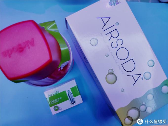 美国AirSoda苏打水机,唤醒你的味蕾