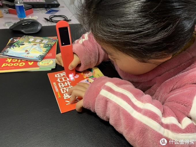 小朋友还处于识字阶段,扫中文听个故事的感觉