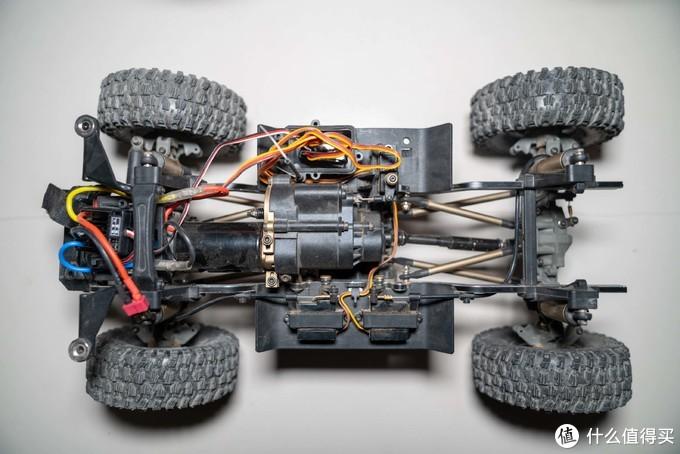 易控YK4101PRO 丰田LC79 RC遥控攀爬车简单改半卡,性能暴增