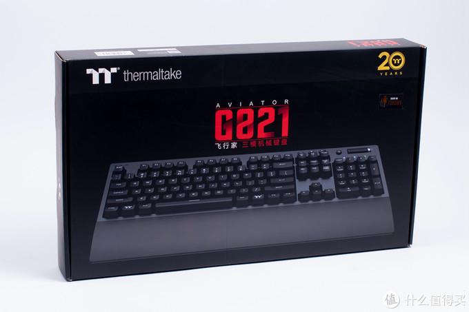 PBT键帽樱桃轴,三种模式无线连接四个设备:TT 曜越 G821键盘体验