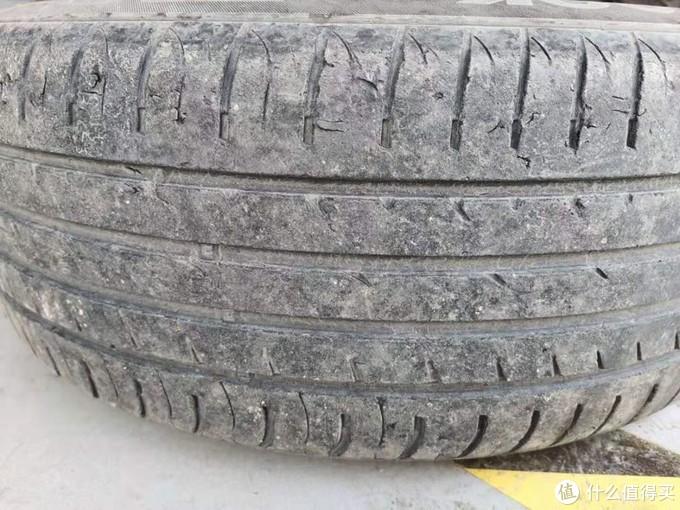 阿特兹5万4千公里,换陪耐力P1轮胎