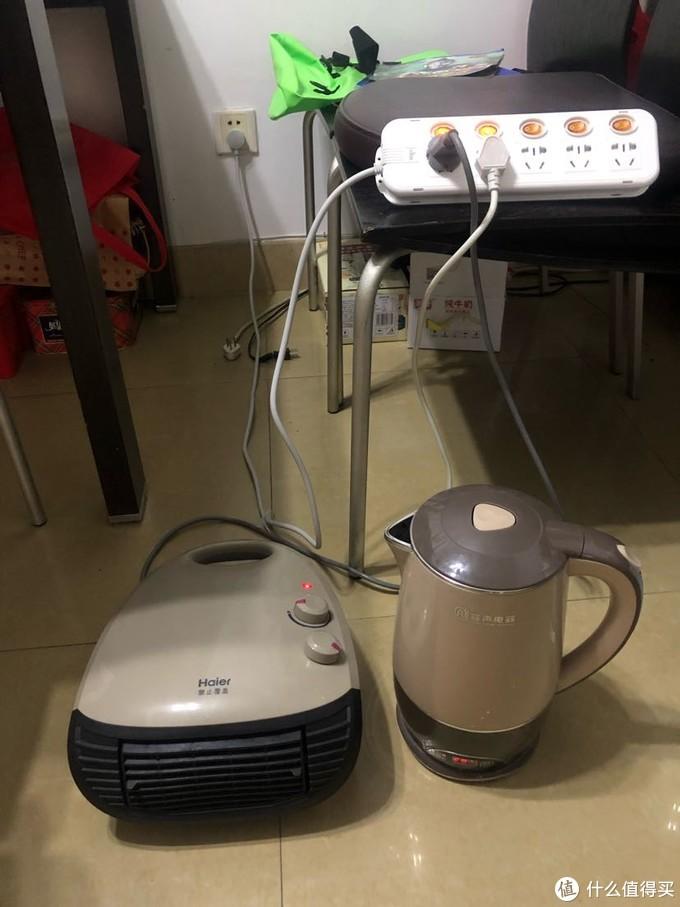 除下一个1800w的电水壶架,可以启动。水温30左右