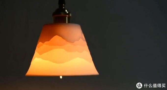 群山叠影吊灯