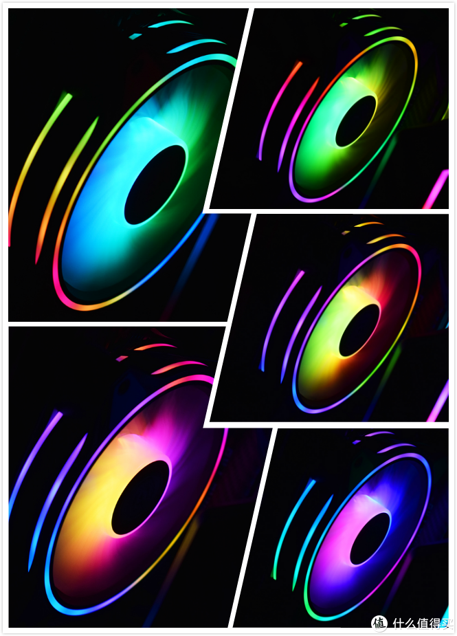 HALO扇ARGB灯效循环