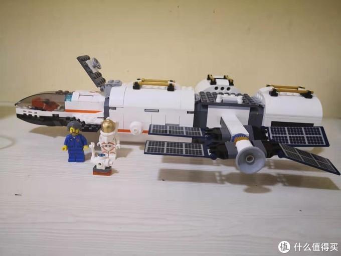 LEGO 城市组太空系列月球空间站60227
