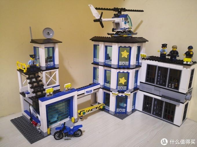 LEGO City系列警察总局60141