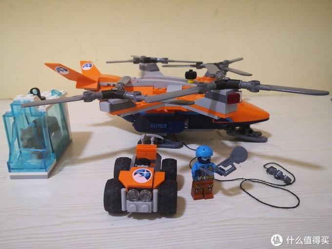 LEGO City系列空中运输机60193