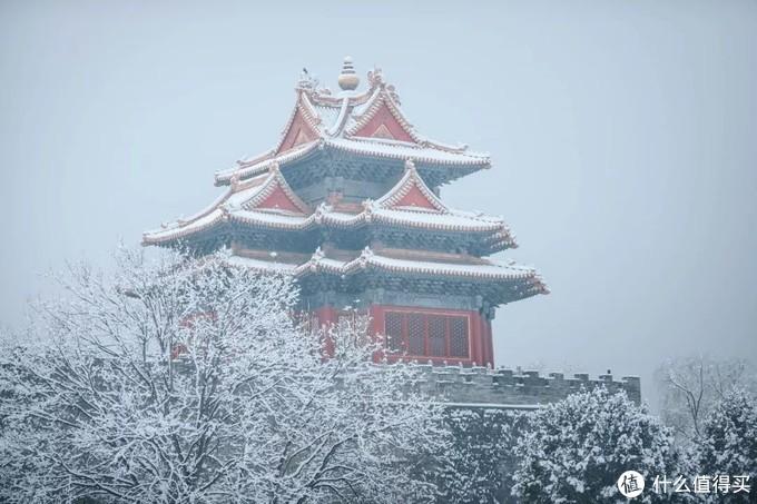 小寒,2020年北京的第一场雪!雪中古建园林宛若画卷