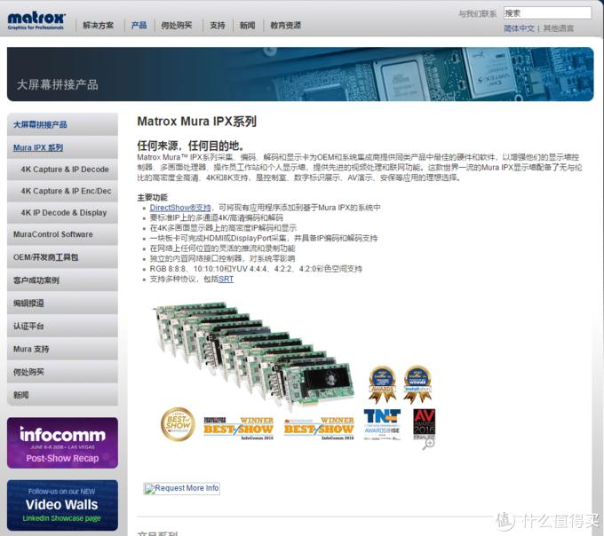 当今的Matrox依然是行业级专用图形显示领域旗舰级企业