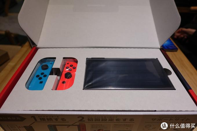 帮朋友购买的switch---初次开箱体验